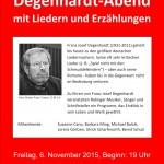 Flyer Degenhardt-Abend