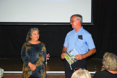 Barbara Ming und der Bürgermeister Klaus Pesch